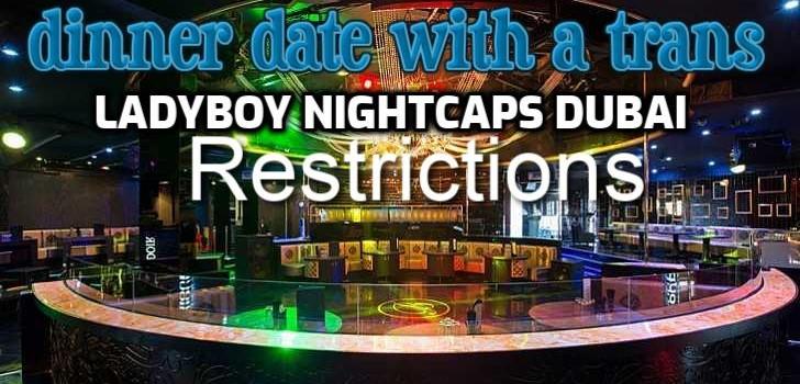It's Ladyboy Nightcaps Dubai