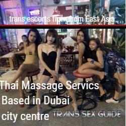 Thai Massage Services Based in Dubai city centre